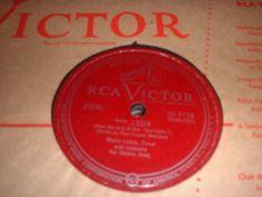 78RPM RCA Victor 10-3738 Mario Lanza, Temptation / Lygia  strong V