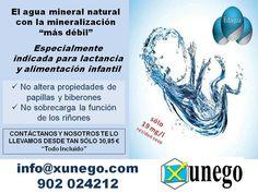 Para los más pequeños... Nuestro agua mineral natural,como agua de mineralización muy débil, está especialmente indicada para la alimentación infantil, debido a su composición.  Con sólo 19 mg/l de residuo seco, y con sólo 2,6 mg/l, tan sólo queda que la pruebes.
