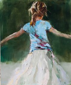 Twirling in a White Skirt - Susie Pryor
