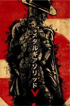 Metal Gear Solid V : The 80's Fan Art Experience Part 2