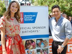 The American Cancer Society uses famous faces to promote their newest Cancer Prevention Study - 3 (CPS-3).    http://www.extratv.com/2013/04/18/stacy-keibler-joins-fight-against-cancer/