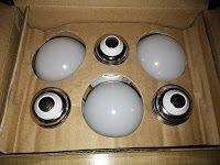 Produkttests und mehr: Test: SHINE HAI G45 LED ersetzt 25W Glühlampen, Wa...