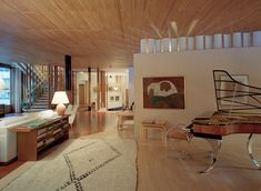 Alvar Aalto, Åke E:son Lindman · Villa Mairea Alvar Aalto, Contemporary Architecture, Interior Architecture, Interior Design, Villas, Mid Century House, Model Homes, Rugs In Living Room, Home Projects