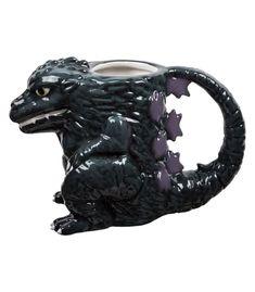 Godzilla Sculpted Ceramic Mug by Vandor
