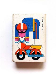 Motorista (by Buro Destruct) Illustration Design Graphique, Art Graphique, Flat Illustration, Unicorn Illustration, Buch Design, Art Design, Illustrations Vintage, Illustrations Posters, Grafik Design