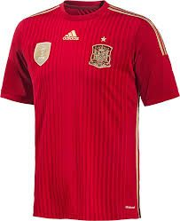 Spain World Cup Home Football Soccer T-Shirt Jersey (Andres Iniesta - Kids World Cup Kits, World Cup 2014, Fifa World Cup, Jersey Adidas, Jersey Shorts, Adidas Football, Worldcup Football, Cristiano Ronaldo, Kids Football Kits