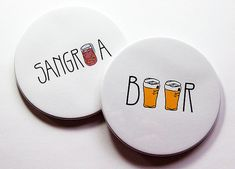 Coasters Set of Coasters Drink Coasters Coasters by KellysMagnets