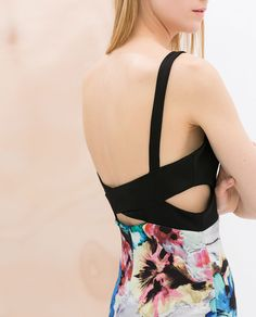 ZARA - SALE - PRINTED DRESS