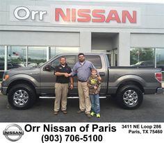 https://flic.kr/p/Gp3yn8 | Congratulations Joshua on your #Ford #F-150 from Nick Jones at Orr Nissan of Paris! | deliverymaxx.com/DealerReviews.aspx?DealerCode=J476