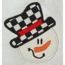 Five Star Fonts  is having a 10th Anniversary Celebration, with an amazing sweepstakes, embroidery machines and more as prizes   plus I found many free designs there, like Snowman in pic.