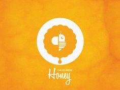 Bees, Beehives, and Sticky Honey Design / Design Tickle Honey Jar Labels, Honey Label, Branding Design, Logo Design, Graphic Design, Design Design, Packaging Design, Honey Logo, Honey Packaging