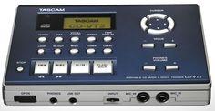 Tascam CD-VT 2 portable CD vocal- and instrument-trainer - CD-DA/CD-R/CD-RW disc playback