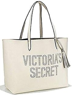 NWT Victoria/'s Secret 2017 Black Friday Sparkle Tote Shopping Bag /& Mini Bag Set