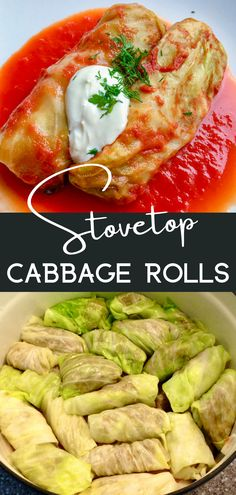 Golubtsi - Cabbage Rolls - Peter's Food Adventures Vegetable Dishes, Vegetable Recipes, Side Dish Recipes, Lunch Recipes, Healthy Sandwiches, Cabbage Rolls, Pork Dishes, Recipes From Heaven
