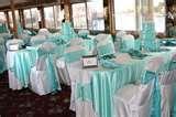 Tiffany Blue Satin sashes : wedding tiffany blue white Tiffany