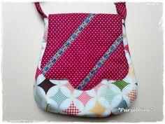 """Handtasche - ♥ Kleine Handtasche """"Eulen"""" ♥ - ein Designerstück von Purzelbine bei DaWanda"""