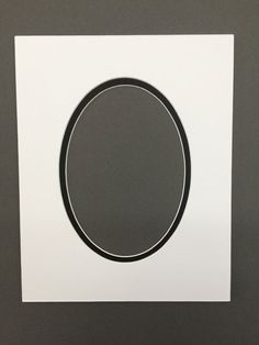 Package of 5 11x14 White & Black  Double by bux1picturematting