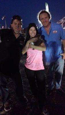 Fajita, Angie and Mike