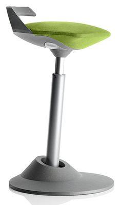 Swopper Muvman - Green Seat on Grey Base
