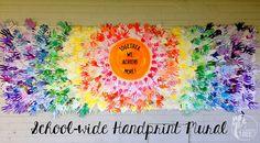 hand print murals - Google Search