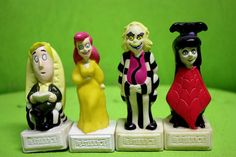 Beetlejuice Toys | Beetlejuice Toy Collectible Figurines by Neonsharkvintage on Etsy