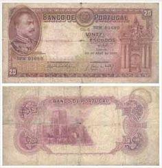 20 escudos, 1931