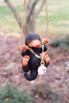 Image of PREORDER- Fantastic beast  inspired, Niffler necklace