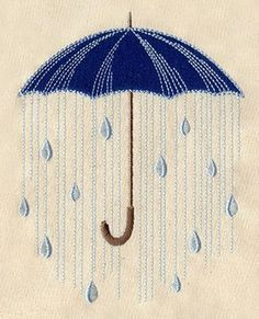 Under The Rain Umbrella Design Looking for machine embroidery designs? You're in luck because I'm on the hunt too and these are some of the most popular machine embroidery designs online! Sashiko Embroidery, Paper Embroidery, Japanese Embroidery, Hand Embroidery Stitches, Vintage Embroidery, Cross Stitch Embroidery, Machine Embroidery Designs, Embroidery Patterns, Hand Quilting