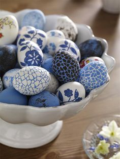 Creative Ideas for Easter Decorations | Mosaic Easter Eggs - Easter Decor - Spring Decor | Art Decor - Decor Ideas and Inspiration | All on #Mozaico Blog!