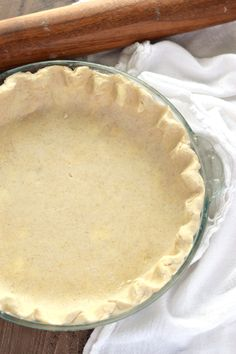 The best flaky Gluten Free Pie Crust Recipe from What The Fork Food Blog. It's also easy to work with and dairy free AND vegan!   @WhatTheForkBlog   whattheforkfoodblog.com