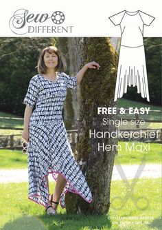 free sewing pattern for women maxi dress