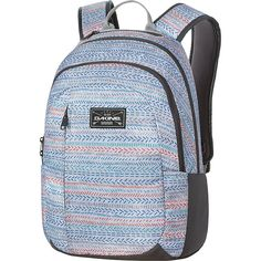 DAKINE Factor 22L Laptop Backpack - Tracks - Laptop Backpacks ($48) ❤ liked on Polyvore featuring accessories, tech accessories, blue, padded laptop case, laptop case, dakine, blue laptop case and laptop sleeve cases