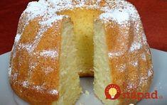 To je nápad! Czech Desserts, Sweet Desserts, Sweet Recipes, Baking Recipes, Cookie Recipes, Savarin, Funny Cake, Cooking Cake, Czech Recipes