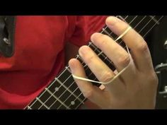 Improve your Guitar Playing (3) Stretch, Reach and Pinky Strength - Third Spider Exercise - YouTube