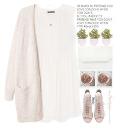 """GOOD MORNING, EVERYONE!\(^▽^)/"" by alienbabs ❤ liked on Polyvore featuring MANGO, Love Quotes Scarves, Linea, Lux-Art Silks, BCBGMAXAZRIA, women's clothing, women, female, woman and misses"