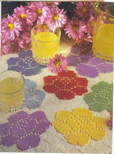 Patterns and motifs: Crocheted motif no. 162