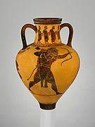 Terracotta oinochoe (jug) | Greek, Attic | Classical | The Met . 400BC