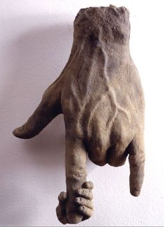 """Hand Series #3"" by James Croak, 1998."