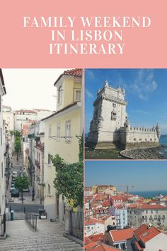The perfect Lisbon itinerary for a weekend in the Portuguese capital. Click on the image and read our exact itinerary and top tips to visit Lisbon in a short time without missing on the city's most famous landmarks. This Lisbon itinerary is suitable for t