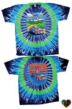 Grateful Dead | Truckin' To Buffalo Tie Dye T-Shirt