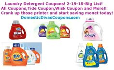 laundry detergent coupons printable 2013