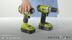 How to use a drill driver--one of the mostly used tools in DIY--with House One's Jenn Largesse.