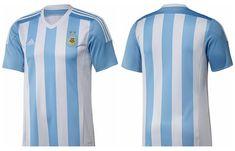 Argentina home jersey for Copa America 2015 Camisa Da Argentina 7fdac5b54