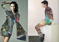 Creative Mixed, Media, Matt, Wisniewski, and Collages image ideas & inspiration on Designspiration Fashion Shoot, Fashion Models, Multiple Exposure Photography, Collages, Best Fashion Magazines, Magazine Collage, Vogue Editorial, Trends Magazine, Creative Pictures