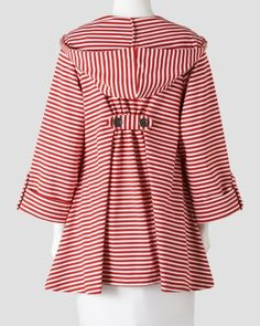 Striped Hooded Jacket, Alternate1 View