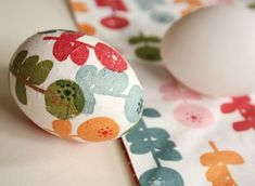 Easter Ideas: Colorful Decoupage Eggs Are A New Spin On The Classic  Photo Credit: By Wilma