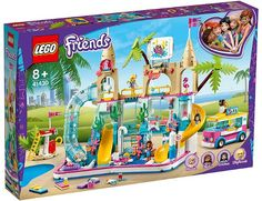 FriendsBricks | 2020 Summer Friends sets Lego City, Lego Duplo, Lego Toys, Lego Ninjago, Legos, Fun Water Parks, Building Toys For Kids, Construction Lego, Van Lego