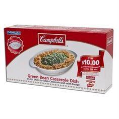 Campbell's Ovate Green Bean Casserole Dish