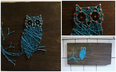 Nine Red: New String Art: The Owl