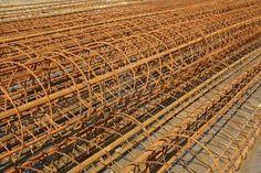 Blog de decoración Steel bars, construction materials stacked together